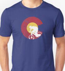 Mountain Bike Colorado Unisex T-Shirt