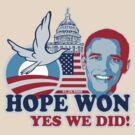 Hope won t-shirt by valizi