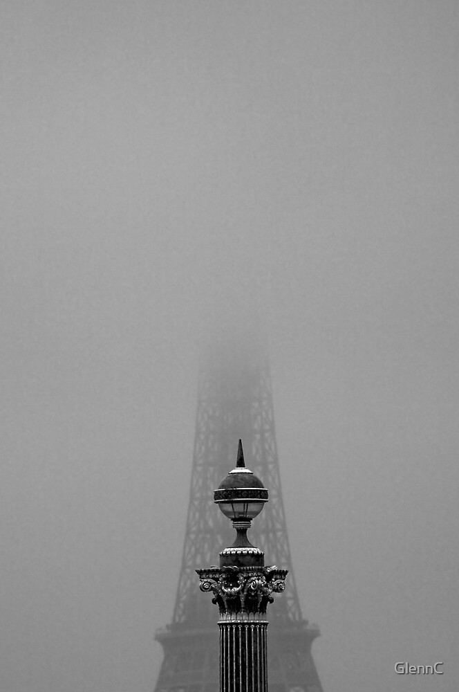 Misty Paris by GlennC