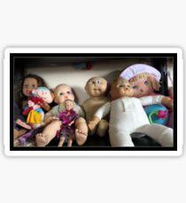 Seven Lovely Dolls Sticker