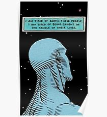 Dr. Manhattan Poster