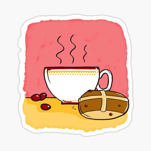 Cranberry Tea Sticker