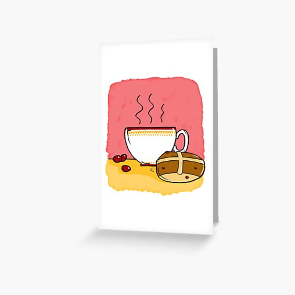 Cranberry Tea Greeting Card