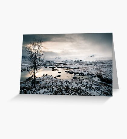 The Black-and-White Mount Greeting Card