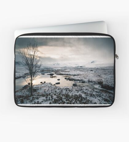 The Black-and-White Mount Laptop Sleeve