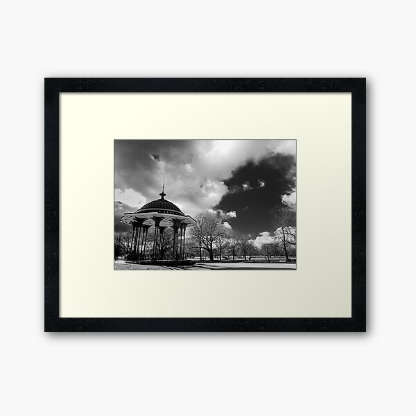 clapham common bandstand Framed Art Print