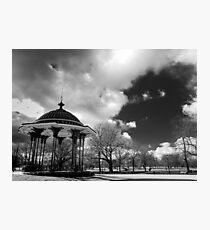 clapham common bandstand Photographic Print