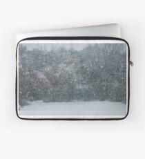 Fall Snowstorm Laptop Sleeve