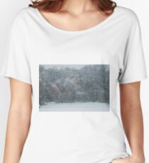 Fall Snowstorm Women's Relaxed Fit T-Shirt