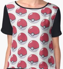 Poké Ball Chiffon Top
