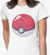 Poké Ball Women's Fitted T-Shirt