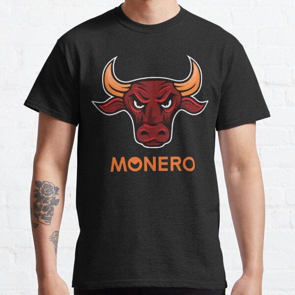 Monero Bull Cryptocurrency Classic T-Shirt