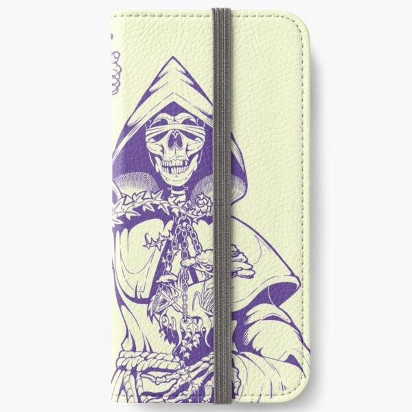 Libra (violet) iPhone Flip-Case