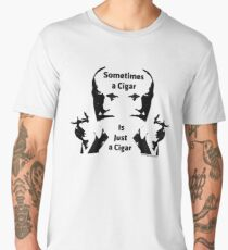 Sometimes a Cigar is Just a Cigar Men's Premium T-Shirt