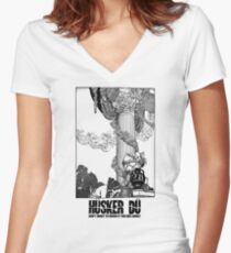 Hüsker Dü (Grant Hart) Women's Fitted V-Neck T-Shirt