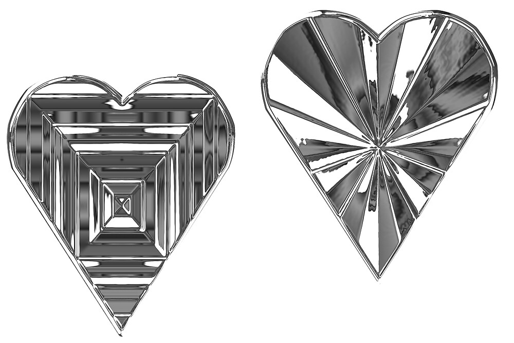 Two chrome hearts by NicPW