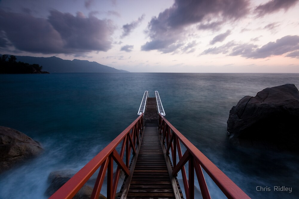 View to beyond by Chris  Ridley