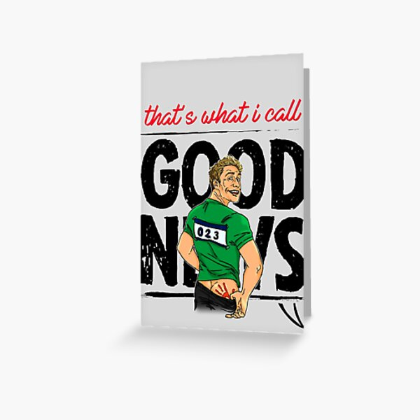 that's what i call GOOD NEWS! Greeting Card