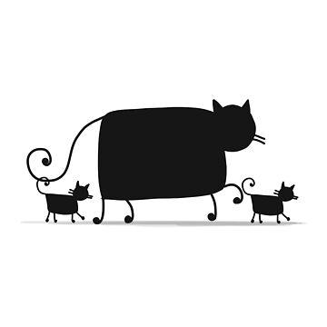 Couple cats by Kudryashka