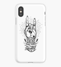 Post fata resurgam iPhone Case