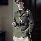General Douglas MacArthur, 1930 by Marina Amaral