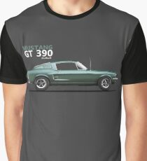 The Bullitt Mustang 390 GT Graphic T-Shirt