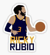 Ricky Rubio Utah Jazz Sticker