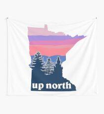 Northern Minnesota Sunset Wall Tapestry