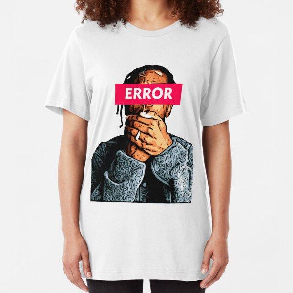 ASAP ROCKY ERROR Slim Fit T-Shirt
