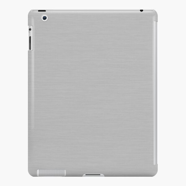 Inspiration on Brushed Steel iPad Snap Case
