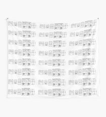 Pedals Wall Tapestry