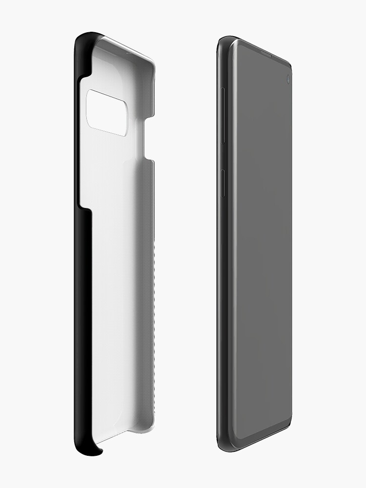 Alternate view of ABshapes in a disc (w) Case & Skin for Samsung Galaxy