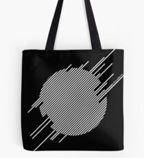ABshapes in a disc (w) Tote Bag