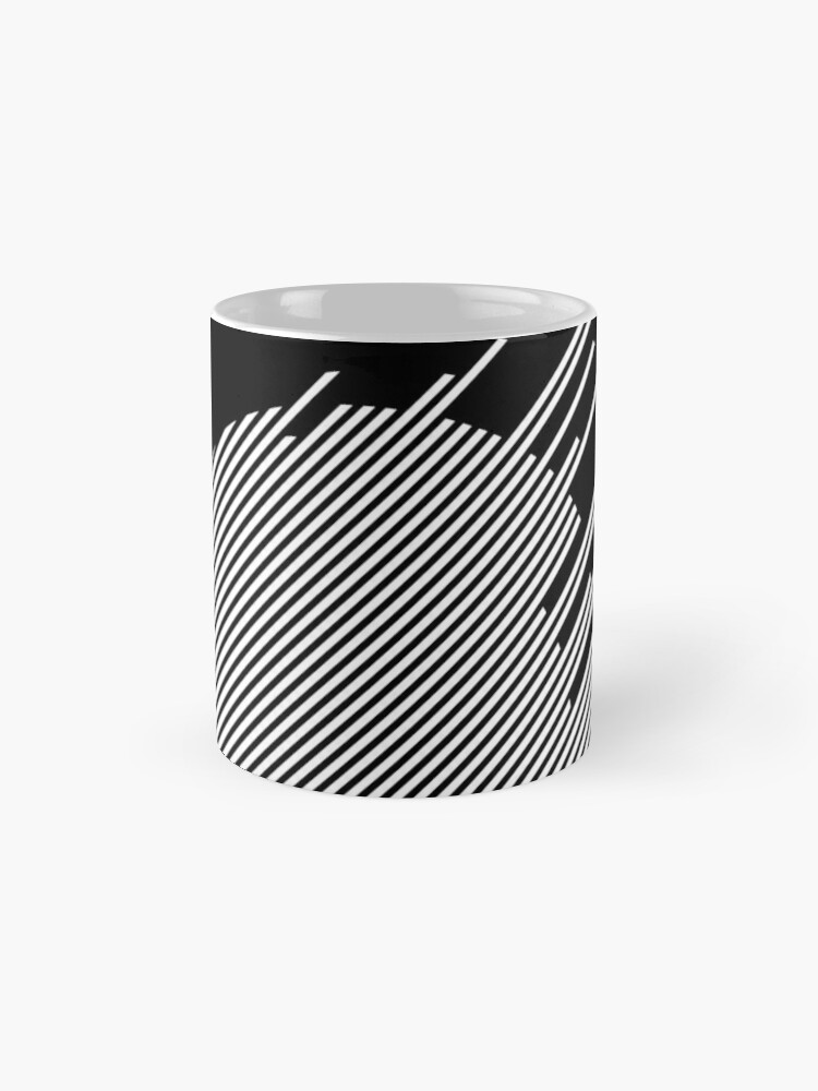 Alternate view of ABshapes in a disc (w) Mug