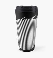 ABshapes in a disc (w) Travel Mug