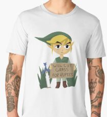 Looking For Work - Legend of Zelda Men's Premium T-Shirt