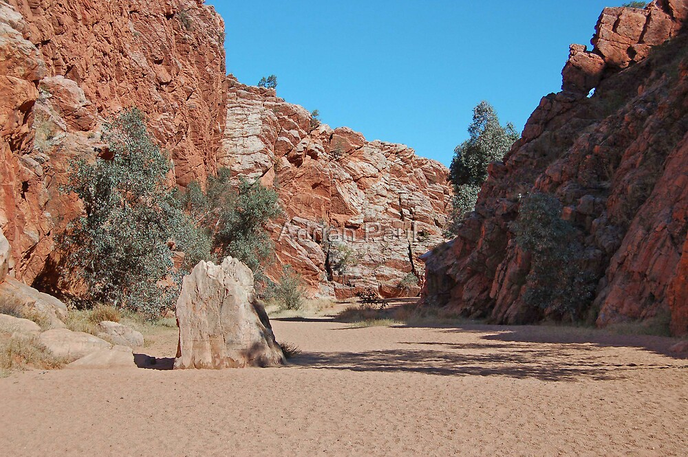 Emily Gap, East Macdonnell Ranges, Northern Territory, Australia by Adrian Paul