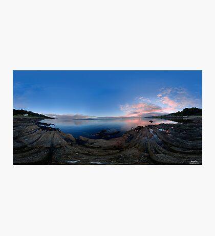 Dusk Shoreline near Moville, Donegal (Rectangular) Photographic Print