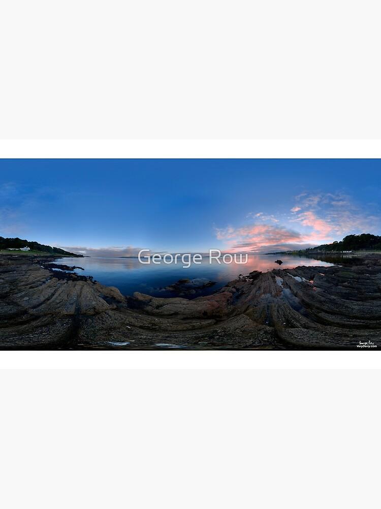 Dusk Shoreline near Moville, Donegal (Rectangular) by VeryIreland