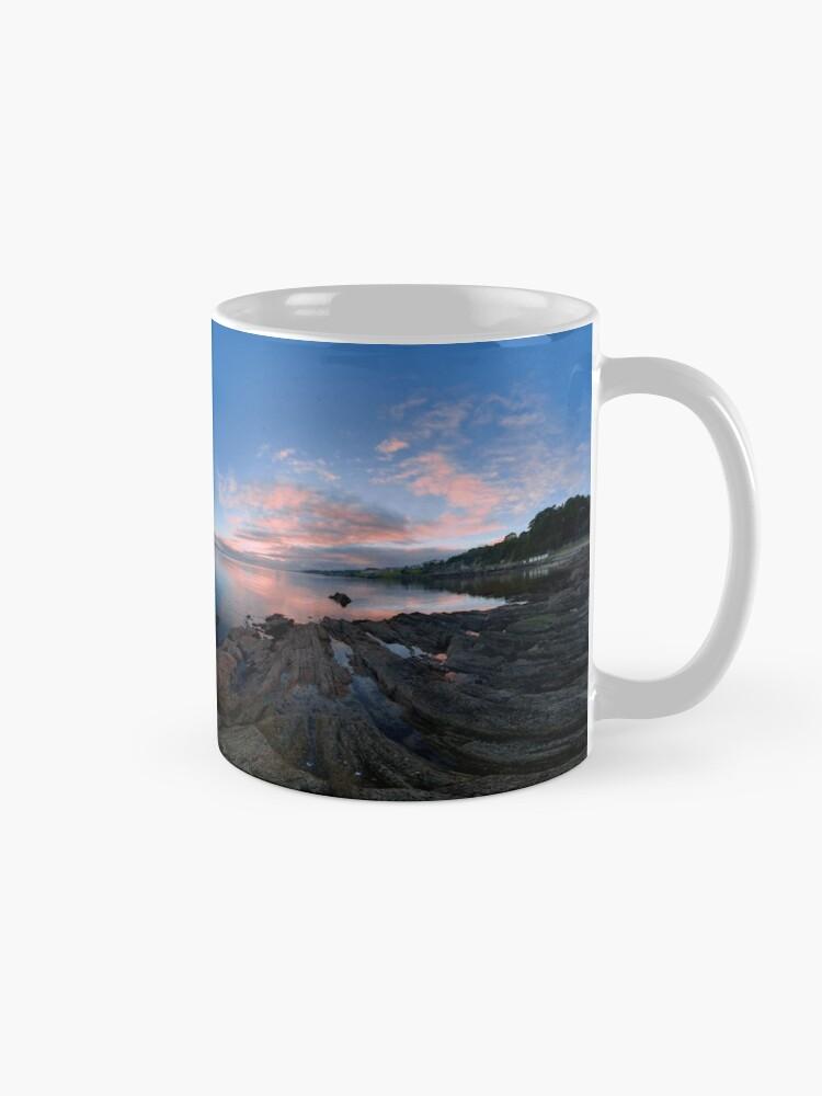 Alternate view of Dusk Shoreline near Moville, Donegal (Rectangular) Mug