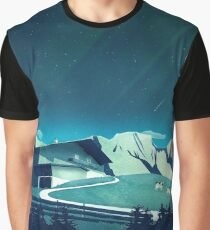 Alpine Hut Graphic T-Shirt