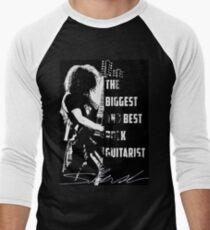 The Biggest and Best Rock Guitarist - Slash Men's Baseball ¾ T-Shirt