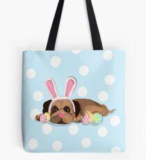 Easter Pug Tote Bag