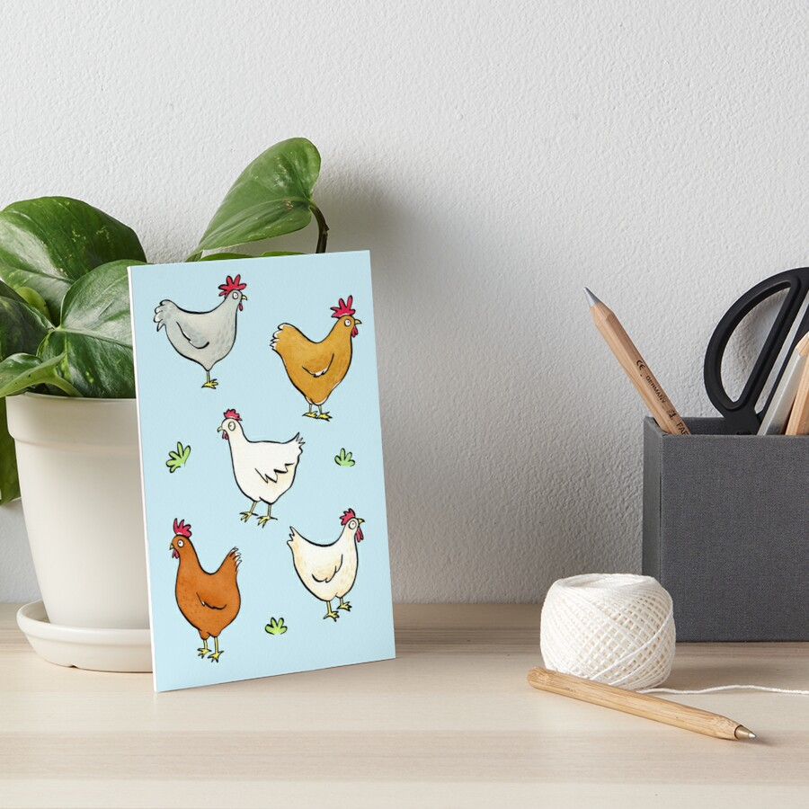 Organized Chickens by zoel
