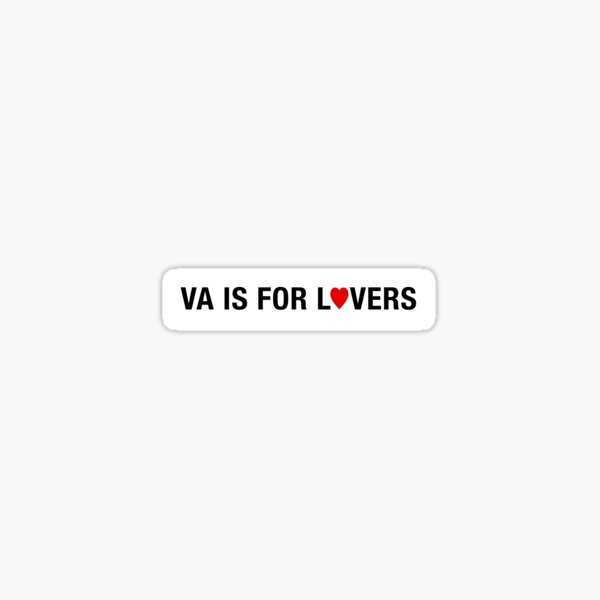 Virginia is for Lovers Sticker