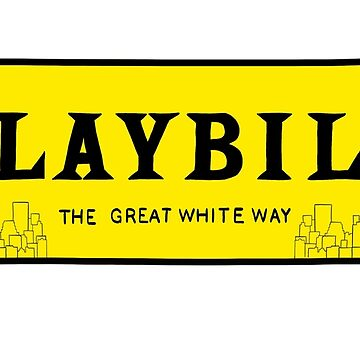 Playbill NYC Skyline by odetospace