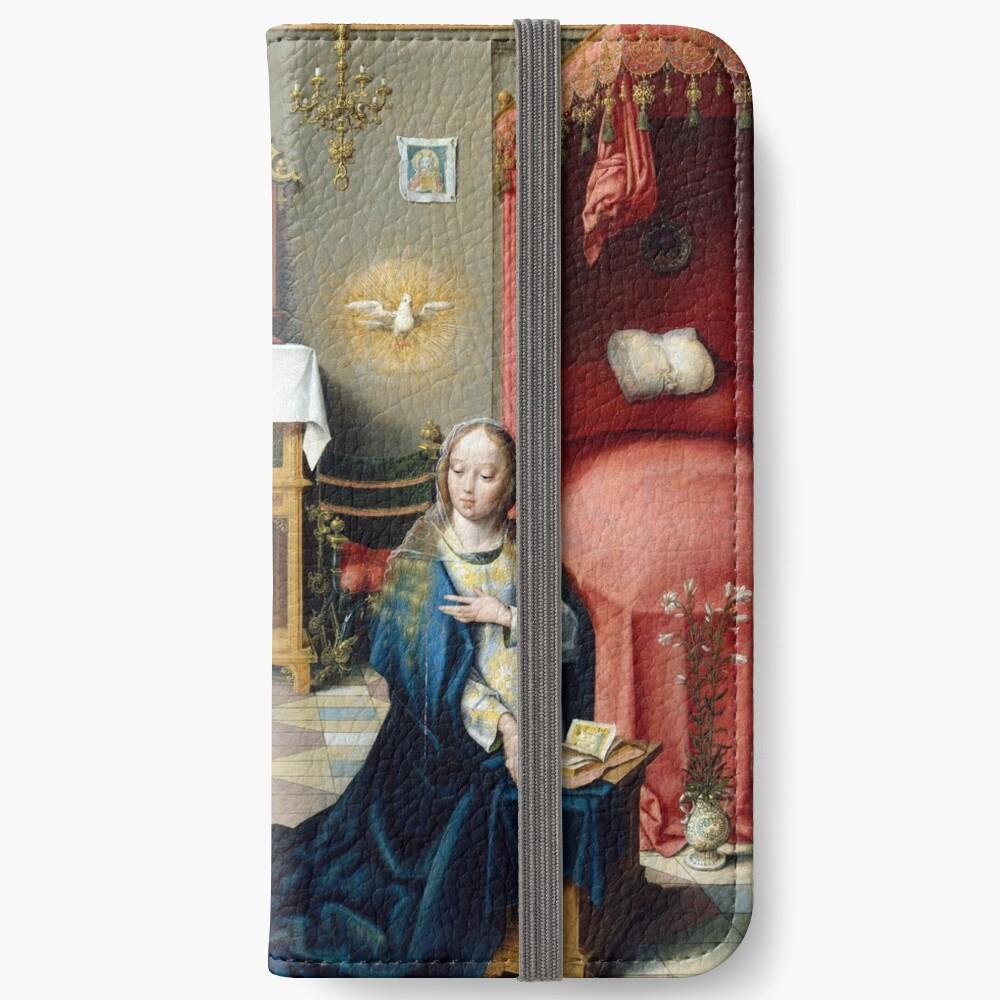 Joos van Cleve Annunciation iPhone Wallet