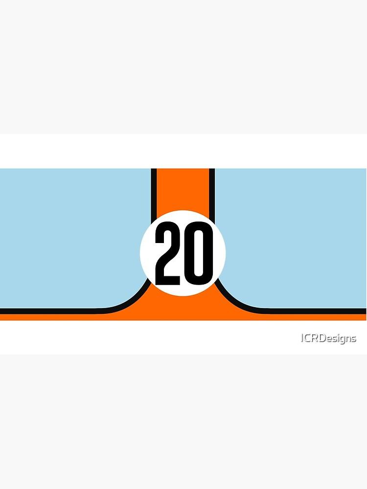 Racing Farben GULF 20 von ICRDesigns