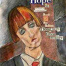HOPE is (for making things HAPPEN) by Alma Lee