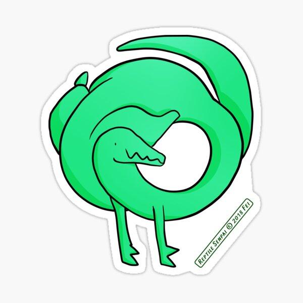 Reptile Senpai S02E01 Sticker